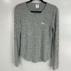2 for $20 PINK by VS Gray Pullover